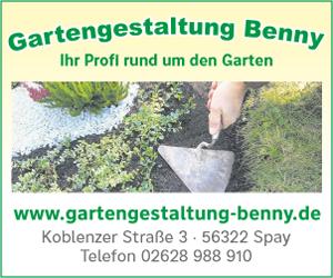 Gartengestaltung Benny