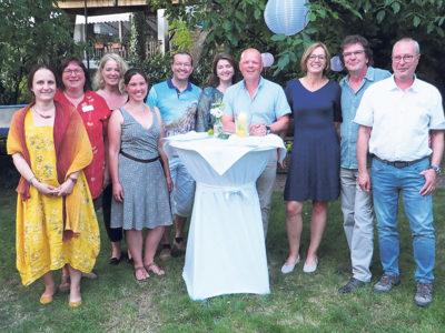 """Team der Stiftung """"Palliativ Zuhause"""""""