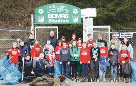 Umwelttag des SSV Boppard 2015