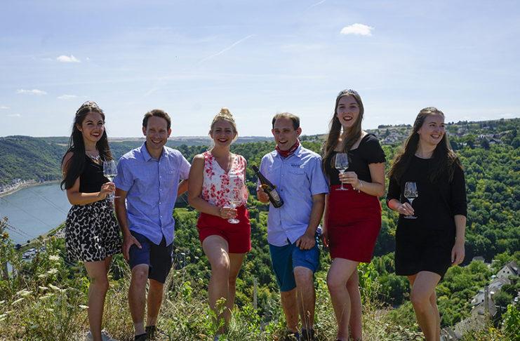 Weinhoheiten zu Besuch in St. Goar