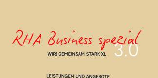 RHA Business spezial WIR gemeinsam stark