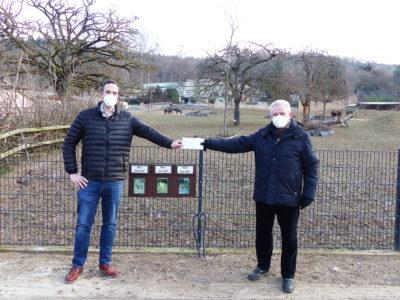 Spende an den Zoo Neuwied