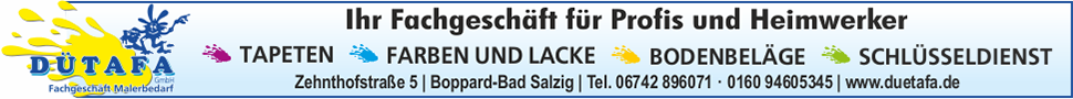 Dütafa Malerbedarf, Boppard-Bad Salzig