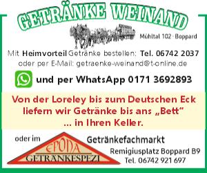 Getränke Weinand, Boppard