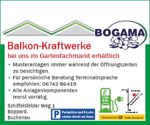 BOGAMA Balkon-Kraftwerke
