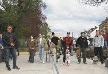 Testlauf am Mehrgenerationenpark in Boppard