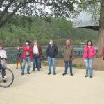Vor-Ort Besichtigung am Mehrgenerationenpark durch den Ortsbeirat