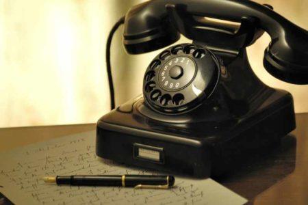 Caritas-Geschäftsstelle Simmern: Telefon mit technischen Problemen