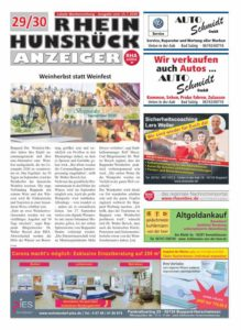 Rhein-Hunsrück-Anzeiger 29-30/20