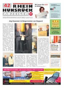 Rhein-Hunsrück-Anzeiger 42/21