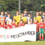 Fußball für ein buntes Miteinander
